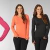 Marika Women's Aloelux Long-Sleeve Thumbhole T-Shirt