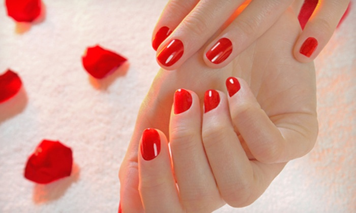 La Lotus Nails Spa - Downtown Vancouver: $23 for OPI Shellac Manicure at La Lotus Nails Spa ($46 Value)