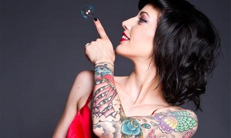 Paga 19 € por un descuento de 110 € en un tatuaje en negro o en color en dos centros a elegir