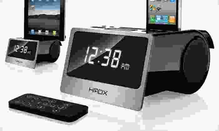 HMDX Flow Alarm Clock and Dock: $25 for a HMDX Flow Alarm Clock and Dock ($59.99 List Price). Free Shipping and Free Returns.