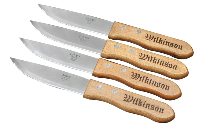 My Personal Memories: Personalized Steak Knives from My Personal Memories (Set of 4)