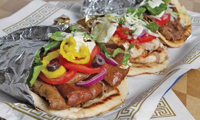 King Gyros Greek Restaurant - East Columbus: $11 for $20 Worth of Greek Food at King Gyros Greek Restaurant