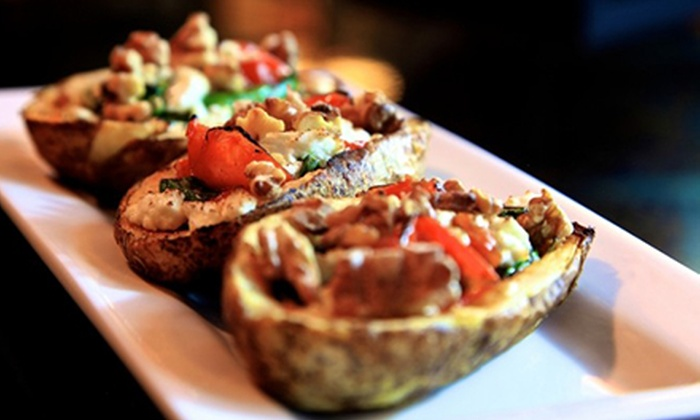 The Wine Loft - Dayton - Beavercreek: $20 for Small Plates and Dessert for Two at The Wine Loft ($34.50 Value)