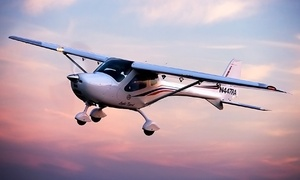 Fly Light Sport CA: $90 for a 40-Minute Discovery Flight in a Remos GX Aircraft at Fly Light Sport CA ($209 Value)