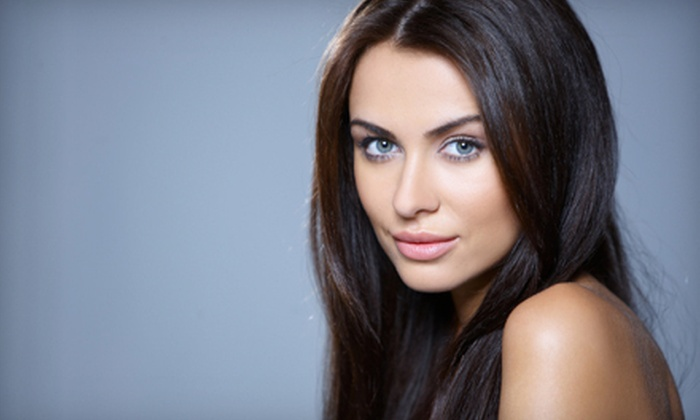 Salon Z! - Arlington: Haircut and Reconstructive Treatment with Option to Add Partial Highlights and Toner at Salon Z! (Up to 68% Off)