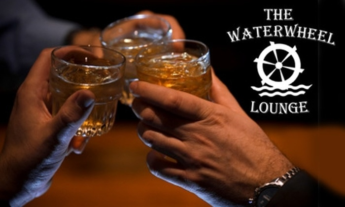 The Waterwheel Lounge - Whittier Heights: $10 for $25 Worth of Fried Fare, Barbecue, and Drinks at The Waterwheel Lounge