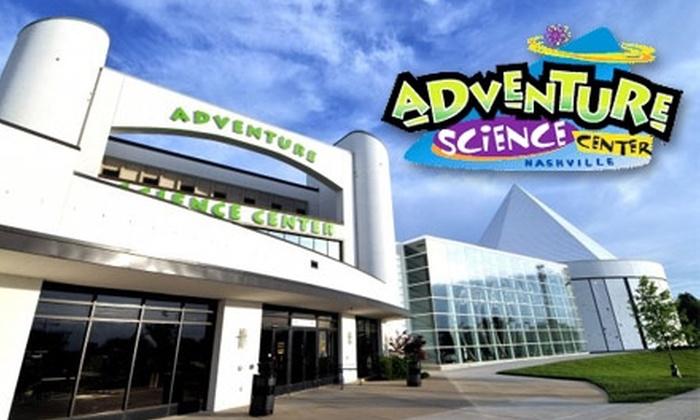Adventure Science Center - Nashville-Davidson metropolitan government (balance): $45 for a One-Year Family Membership to Adventure Science Center ($90 Value)