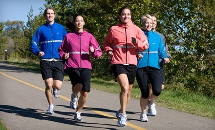 $50 Groupon to Running Room - 20 Crowfoot Cresent  NW, Suite 435, Calgary, Alberta T3G 2P6  - Running Room in