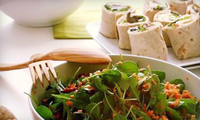 Nanoosh - Arcola: $10 for $20 Worth of Organic Mediterranean Fare at Nanoosh in Paramus