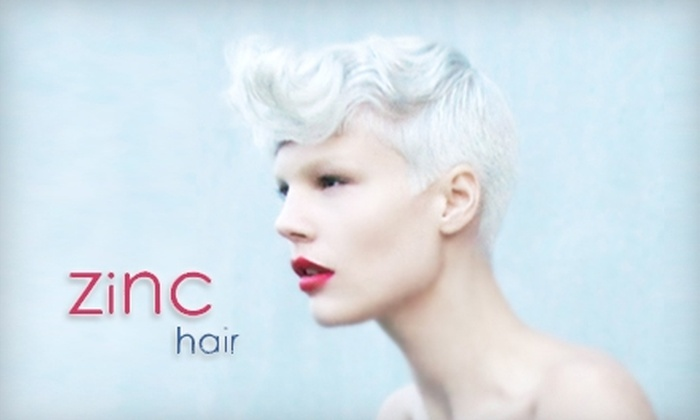 Zinc Hair - South Cambie: $32 for $65 Worth of Hair Services at Zinc Hair