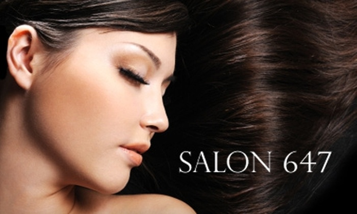 Salon 647 - West Tatnuck: $60 for Highlights, Haircut, and Deep-Conditioning Treatment at Salon 647 (Up to $143 Value)