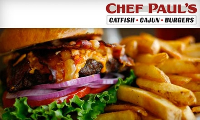 Chef Paul's - Franklin: $10 for $20 Worth of Cajun Fare and Drinks at Chef Paul's in Franklin