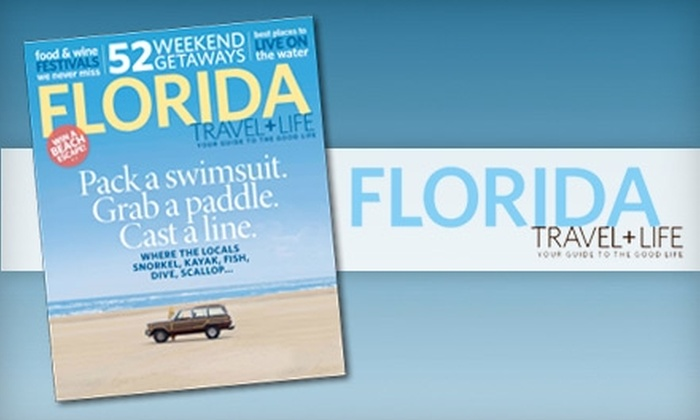 """Florida Travel + Life"" Magazine: $5 for a One-Year Subscription to ""Florida Travel + Life"" Magazine ($11.97 Value)"