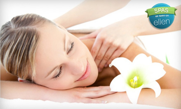 The Hair Color Salon & Spa - Lawrenceville: Two-Hour Opulent Spa Package or One-Hour Comfort Package with Facial, Swedish Massage, and Wine at The Hair Color Salon & Spa in Lawrenceville