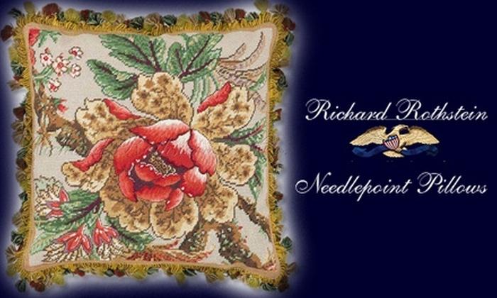 Richard Rothstein & Co. - Philadelphia: $50 for $100 Worth of Handmade Needlepoint Pillows from Richard Rothstein & Co.