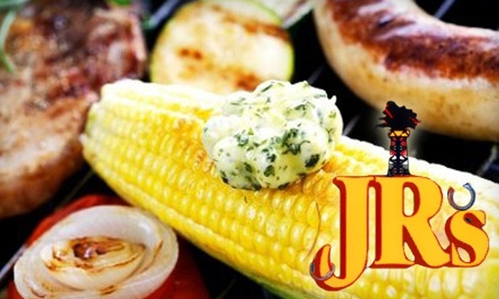 Jr's BBQ - Elder Homstead: $7 for $15 Worth of BBQ, Drinks and More at JR's Bar-B-Que