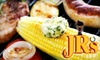 Jrs BBQ - Elder Homstead: $7 for $15 Worth of BBQ, Drinks and More at JR's Bar-B-Que