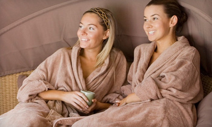 Mellow Me Out - Multiple Locations: $49 for a Two-Hour Spa Package with Foot Soak, Scrub, Massage, and Organic Facial at Mellow Me Out ($100 Value)