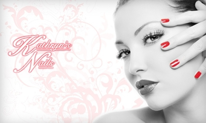 Sculptured Nails at Kathryn's - North Central Omaha: $25 for a Set of Sculptured Nails at Sculptured Nails at Kathryn's