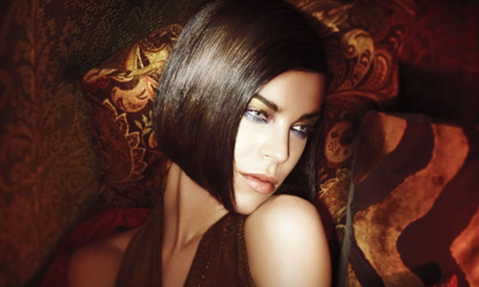 Landis Lifestyle Salon - Capitol Hill: Cut and Gloss with Options for Color or Partial Highlights or Full Highlights at Landis Lifestyle Salon (Up to 71% Off)