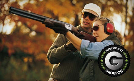 Clay Target-Shooting Package Includes 100 Clay Targets and Cart Rental - Benton Sporting Clays in Charleston