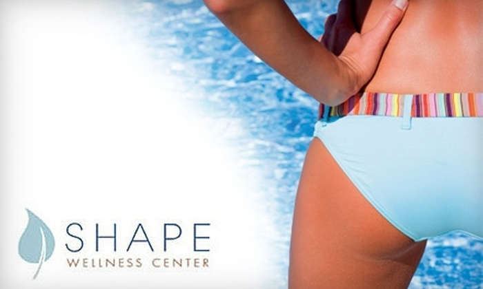 Shape Wellness Center - Sandy Springs: $125 for Four Laser Hair-Removal Treatments at Shape Wellness Center (Up to $860 Value)