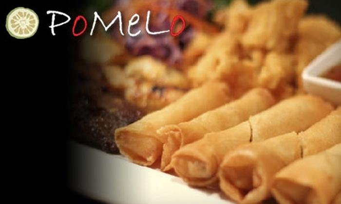 Pomelo Thai & Vietnamese Cuisine - Burlington: $15 for $30 Worth of Dinner Fare at Pomelo Thai & Vietnamese Cuisine in Burlington (or $5 for $10 Worth of Lunch)