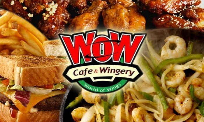 WOW Cafe and Wingery New Orleans - West Riverside: $10 for $20 Worth of Saucy Wings and More at WOW Café and Wingery