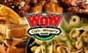 WOW Cafe and Wingery New Orleans OUT OF BUSINESS - West Riverside: $10 for $20 Worth of Saucy Wings and More at WOW Café and Wingery