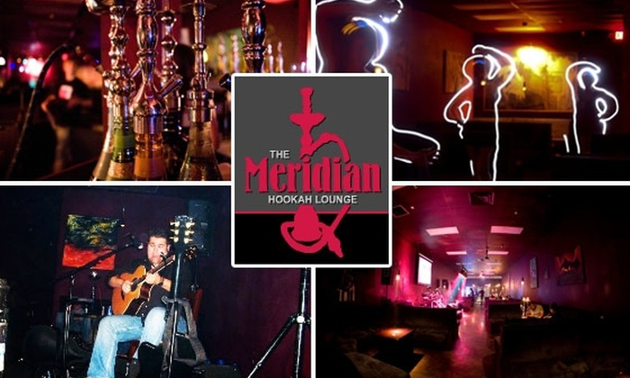 The Meridian Hookah Lounge - Temple Terrace: $5 for Unlimited Hookah Service at The Meridian Hookah Lounge