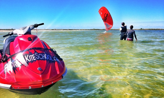 Kostal Paddle - Palm Harbor: Introductory or Half-Day Kite-Boarding Lesson at Kostal Paddle (Up to 51% Off)
