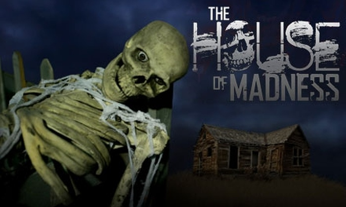 The House of Madness Haunted House - Ala Moana - Kakaako: $7 for One Admission to The House of Madness Haunted House ($15 Value)