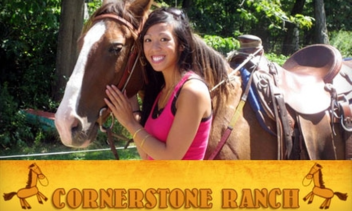 Cornerstone Ranch - Princeton: $35 for an Approximately Two-Hour Guided Trail Ride at Cornerstone Ranch in Princeton