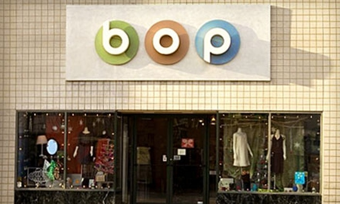 Bop - Downtown Madison: $35 for $70 worth of Women's Boutique Clothing and Accessories at Bop