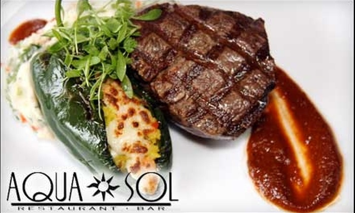 Aqua Sol - Red Lion: $15 for $30 Worth of Miami-Style Cuisine at Aqua Sol
