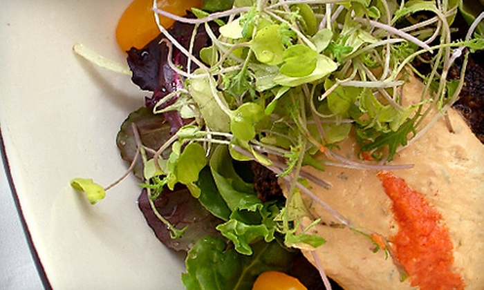 The Sprout - Mount Pleasant: Vegan Meal for Two or a 21-Day Living Foods Detox-Rooted Program at The Sprout in Mount Pleasant (Up to 52% Off)