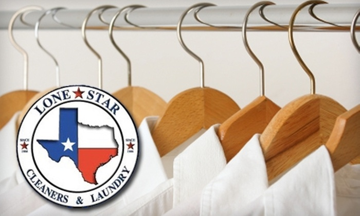 Lonestar Cleaners & Laundry - Multiple Locations: $20 for $40 Worth of Dry-Cleaning Services at Lonestar Cleaners & Laundry