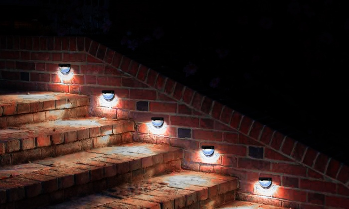 Luci a energia solare con led groupon goods