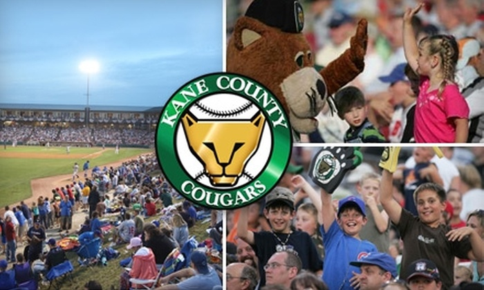 Kane County Cougars - Geneva: Seat or Luxury Suite at Kane County Cougars Game in Geneva on Sunday, September 5, at 6:00 p.m. Choose from Three Options.