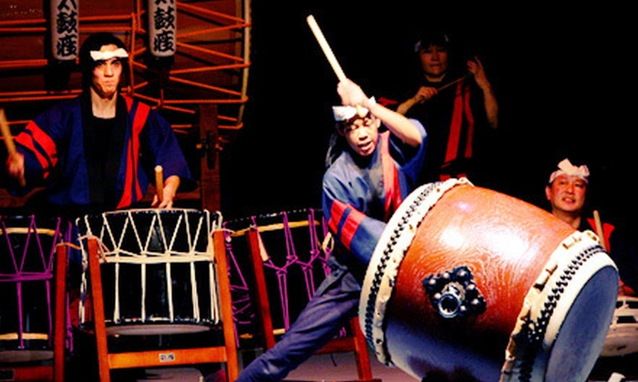 Taikoza - Manhattan Movement and Arts Center: $19 for Outing to See Taikoza at the Manhattan Movement and Arts Center on May 4 or 5 at 8 p.m. ($40 Value)