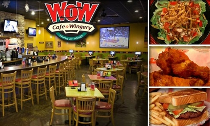 Wow Cafe & Wingery - Gainesville: $10 for $25 Worth of Wings, Beer, and More at WOW Cafe & Wingery in Manassas