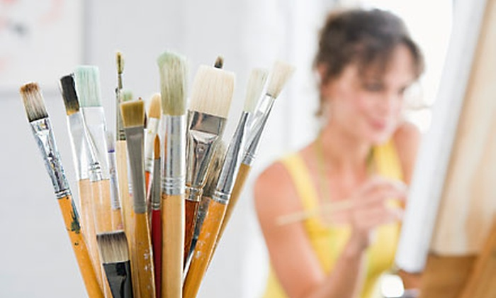 Palette & Chisel - Near North Side: $22 for Three Three-Hour Open Studio Sessions at Palette & Chisel ($45 Value)
