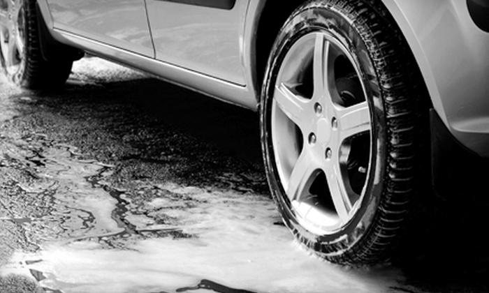 Constan Car Wash - University Hills: $5 for an Exterior Car Wash, Polish Wax, and Hand Dry at Constan Car Wash ($10 Value)