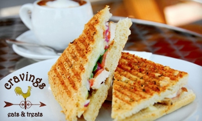 Cravings eats & treats - West Harrison: $10 for $20 Worth Of Tasty Fare at Cravings eats & treats