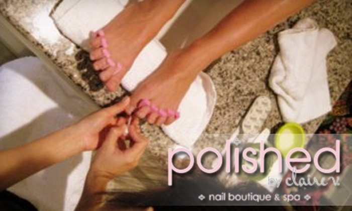Polished by Claire V - Downtown: $14 for the Polished Diva Pedicure at Polished by Claire V ($28 Value)