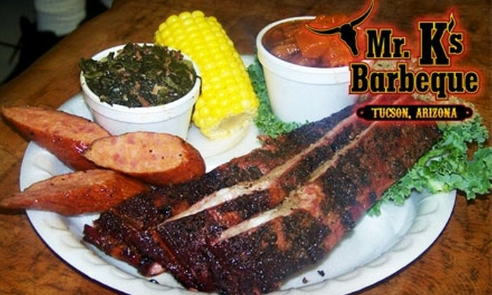 Mr. K's Barbecue - Tucson: $5 for $10 Worth of Savory Barbecue at Mr. K's Barbecue