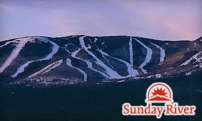Sunday River Ski Resort - Newry: $39 for a One-Day Lift Ticket at Sunday River Ski Resort in Newry ($79 Value)