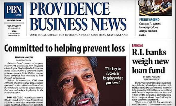 "Providence Business News - Providence: $20 for a Six-Month Subscription to ""Providence Business News"" ($47 Value)"