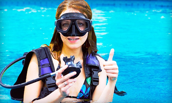Salty Dog Dive Center - Wilmington: $30 for a Discover Scuba Class at Salty Dog Dive Center ($60 Value)