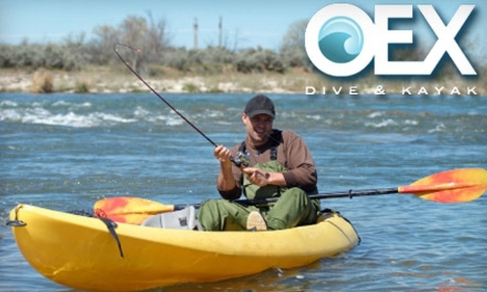 OEX Dive and Kayak - Mission Beach: $99 for a Two-Day Kayak Fishing Experience from OEX Dive and Kayak